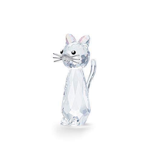 Swarovski Replicat Katze, Kristall, klar, 4,7cm