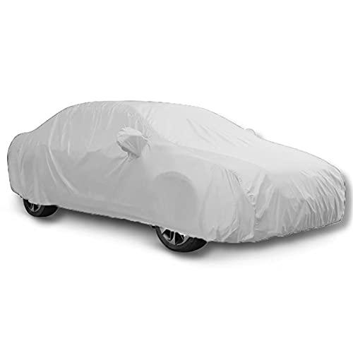NSIXLU La Cubierta del automóvil es Compatible con Audi S1 S2 S3 S4 excrementos Impermeables, para Todo Clima, Viento, Nieve, Rayos UV y de Aves, no es fácil de Romper (Color : B, Size : S1)