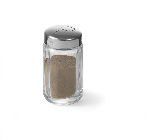 HENDI Peper- en zoutstrooier - peper - ø40x(H)70 mm