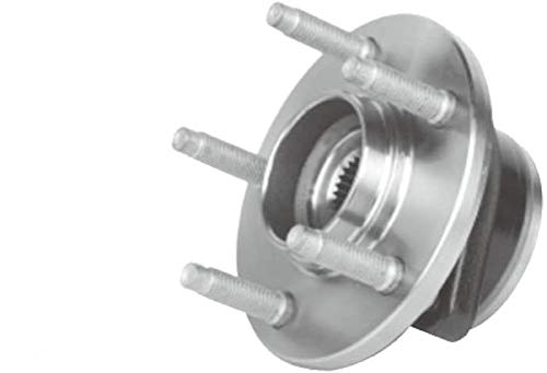 GSP 114100HD Wheel Bearing and Hub Assembly - Left or Right Front (Driver or...