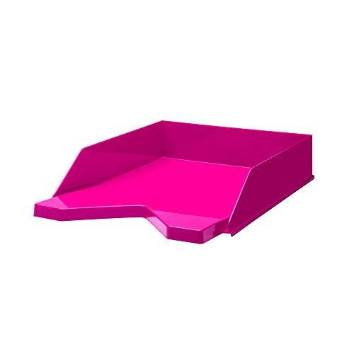 Jalema 7435421Vaschette Portacorrispondenza Fashion–Portacorrispondenza in polistirolo, confezione da 10pezzi, A4, colore: rosa