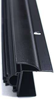 M-D Building Products 80630 1-3/8-Inch by 36-Inch DB002 U-Shaped Door Bottom with Drip Cap, Bronze