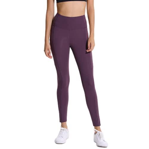 QTJY Pantalones de Yoga Sexis para Mujer, Mallas de Cintura Alta, Ejercicio de Entrenamiento, Pantalones de Fitness, Estiramiento de Cintura Alta, Pantalones Deportivos de Secado rápido Am