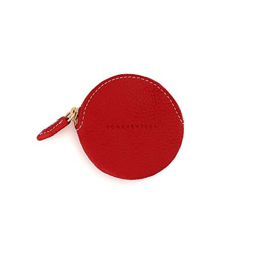 BONAVENTURA Round Coin Case BCCT3 - Red -