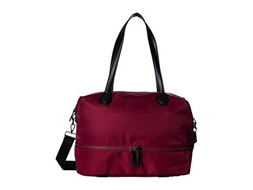 London Fog Women's Vinyl Weekender Bag Red Size: One size