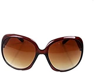 Bullidea Women's Sunglasses Large Frame Vintage Polarized Sunglasses Driving Goggles Ladies Eyewear UV 400 Protection Dark Tinted Mirror