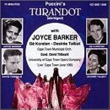 Puccini: Turandot Cape Town, June 1965  Abridged