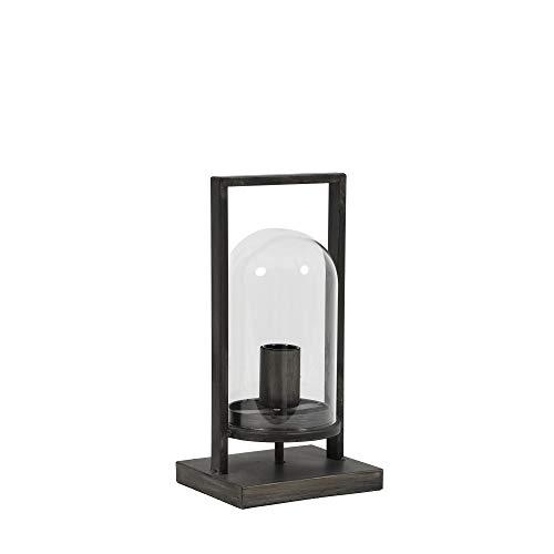 Tafellamp lantaarn JELLE lamp H 32,5 cm lamp tafellamp antiek zwart