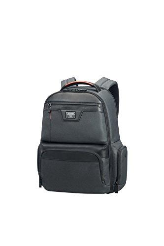 "SAMSONITE Zenith - Laptop Backpack 15.6"" Mochila Tipo Casual, 46 cm, 21 Liters, Negro (Black)"