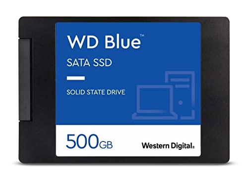Western Digital 500GB WD Blue 3D NAND Internal PC SSD - SATA III 6...