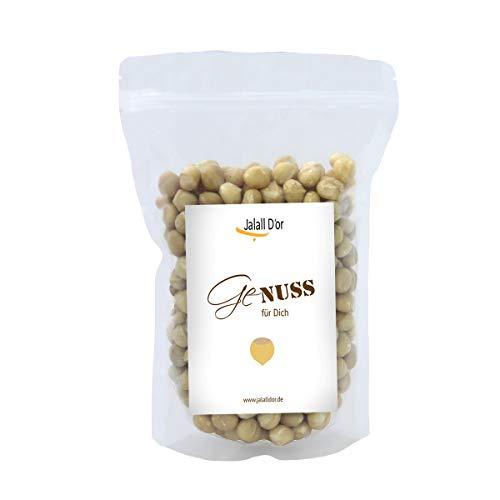 Premium MACADAMIA NÜSSE BIO ROHKOSTQUALITÄT von Jalall D\'or | aus Kenia | ganze Nüsse | fair gehandelt aus kleinem Bauernprojekt| frisch abgefüllt | cremig knackiger Macadamia Geschmack | 1kg