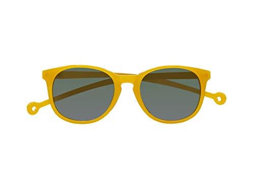 Parafina - Gafas de Sol Polarizadas para Hombre y Mujer - Gafas de Sol Anti-reflejantes Amarillas - Lentes Verdes