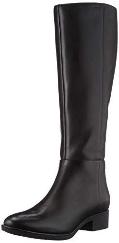 Geox Damen D FELICITY D Knee High Boot, Coffee, 39 EU