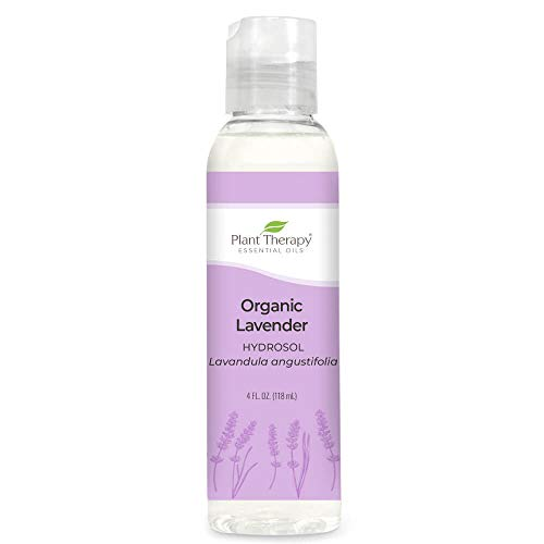 Plant Therapy Lavender Organic Hydrosol 4 oz (Flower Water) By-Product of Essential Oils