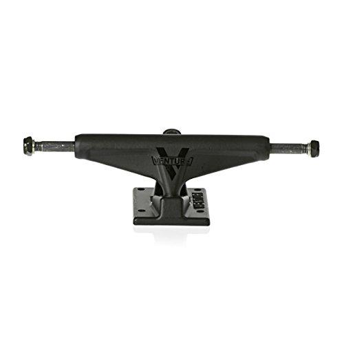 Venture Hi 5.25 Black Shadow Skateboard Trucks (Set Of 2) by Venture Trucks