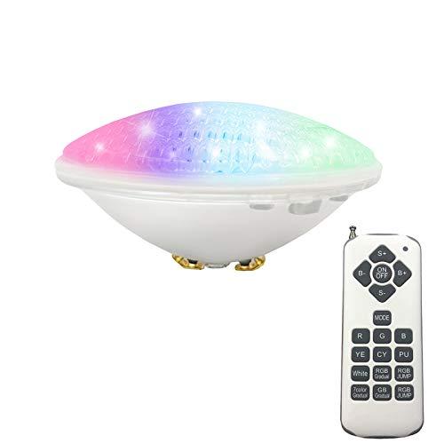 Luci per piscina RGBW PAR56 36W Luci per piscina a LED sospese per sostituzione subacquea Fari alogeni 300W DC / AC 12V
