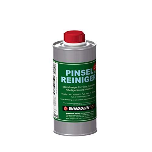 Bindulin Pinselreiniger 250 ml Flasche Spezialreiniger für Pinsel, Farbrollen, Arbeitsgeräte, Maschinen