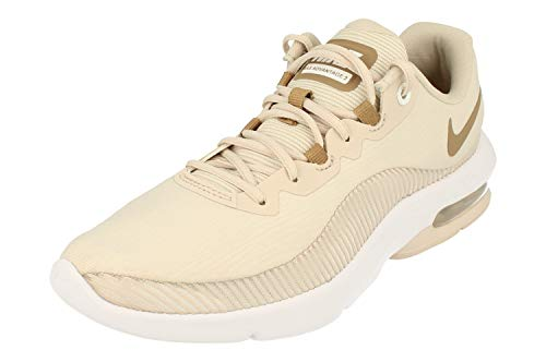 Nike Womens Air Max Advantage 2 Running Trainers AA7407 Sneakers Shoes (UK 6 US 8.5 EU 40, Desert Sand White 020)
