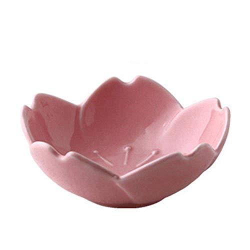 1 PCS 15Cm Japanse Stijl Saus Schotel; Keramisch Tafelgerei, Cherry Blossom Dish, Pink
