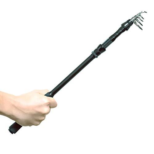 オルルド釣具コンパクトロッド「ファミルドA」全長:3.6m<ファミリーフィッシング・さびき・ちょい投げなどライトな釣りに>携帯に便利なサイズの振出竿360cmqb300088a06n01