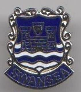 1000 Flags City of Swansea Wales Pin Badge