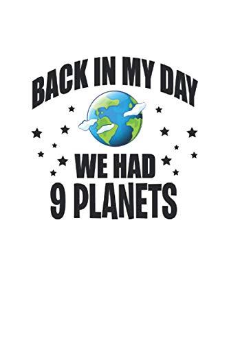 Cuaderno: Plutón Astronomía Del Planeta Sarcasmo Regalos Divertidos 120 Páginas, 6X9 (Ca. A5), Puntos