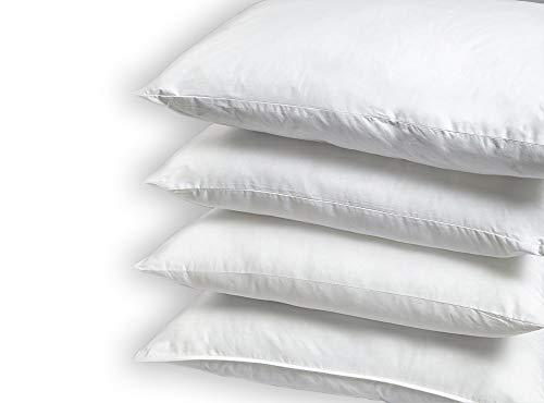 Gailarde Infinite Wash Pillow - Almohada (46 x 74 cm, 2 Unidades), diseño con Texto Return to Shape Soft & Comfy