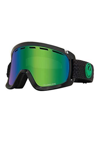 Dragon Alliance D1 OTG Ski Goggles, Black, Split/Luma Green Lens