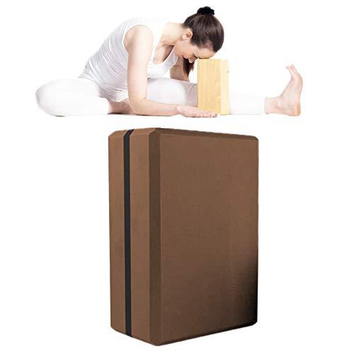 zhppac Ladrillo De Yoga Ladrillos Yoga Yoga Kit de iniciación Bloque de Yoga Conjunto Bloques de Yoga Yoga Bloques de Soporte Pilates Bloques 1pc,-