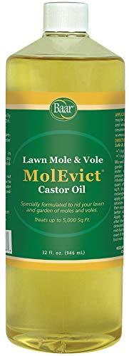Baar Lawn Mole Castor Oil, MolEvict – 32 Ounces