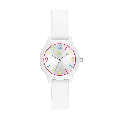 Puma P6000 - Reloj de cuarzo de silicona para mujer