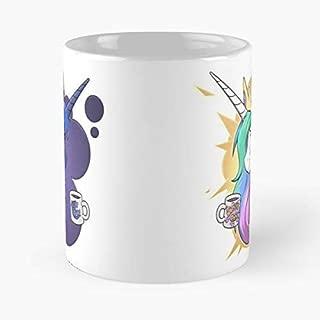 Princess Celestia Tia Luna Mlp - 11 Oz Coffee Mugs Ceramic,the Best Gift For Holidays.