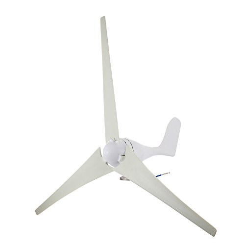 Ambesten Wind Turbine DC 12V Windgeneratoren 400Watt 800RPM Wind Turbine Generator mit Controller für Home und Business Power Ergänzung (400W)