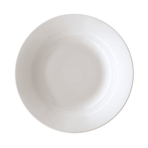 Arzberg Cucina-Basic ROK Weiss Pasta-/Gourmetteller, Porzellan, White, 30.5 x 30.5 x 6.5 cm