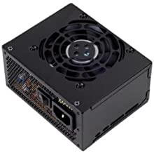 SilverStone Technology 300W SFX Form Factor 80 Plus Bronze Power Supply with +12V Single Rail, Active PFC (ST30SF)
