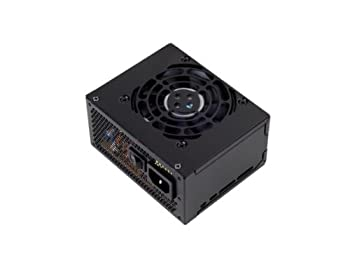 SilverStone Technology 300W SFX Form Factor 80 Plus Bronze Power Supply with +12V Single Rail Active PFC  ST30SF