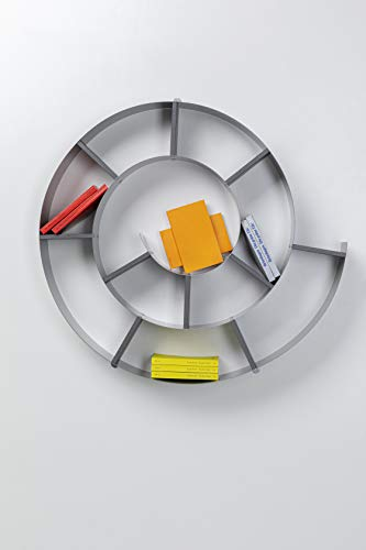 Wandregal Snail, dekoratives Schneckenregal für Bücher und CDs - 6