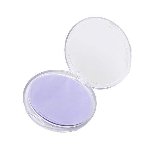 Wegwerp hand wassen zeep tabletten, met 1 doos 20Pcs, Mini Portable Soap papier, geschikt voor thuis en Outdoor Travel,Purple