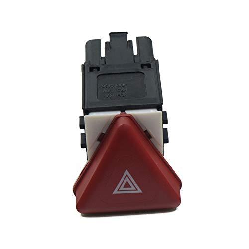 LSXLSD Cambio de peligro de interruptor de automóviles de autopartes Interruptor de botón de peligro para Volkswagen VW Jetta Golf V MK 5 1K1 GTI COBBIT 1K0 953 509A 1K0 953 509 A 1K0953509A