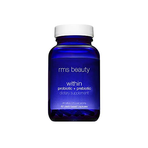 RMS Beauty - Beauty Within Probiotic + Prebiotic Women's Supplements, 60 Capsules