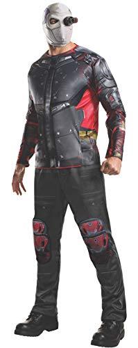 Disfraz oficial para adultos del Escuadrón Suicida de Deadshot de Rubie's (XL)
