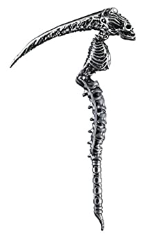 Disguise Men s Sin Scythe Costume Accessory Silver Adult