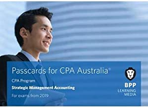 CPA Australia Strategic Management Accounting: Passcards