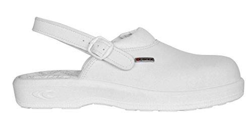 Cofra 75011-002 NEW JASON SB E A FO SRC Sicherheitssandalen, Weiß, Größe 36