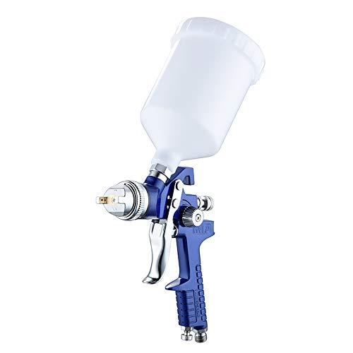 HR Pistola pulverizadora de aire HVLP de 1,4 mm/1,7 mm/2,0 mm, boquilla para pintura de coche, capacidad de 600 ml
