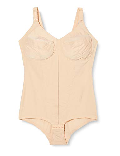 Playtex 2859 Kzg Korselett D-cup, Body modellante, Donna, Beige, 8D IT