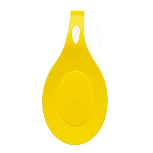 Coussinet de tasse Tapis de serviettes en silicone - qualité alimentaire silicone Cuillère Mat silicone résistant à la chaleur napperon Plateau cuillère Pad boire un verre Coaster outil de cuisine Déc