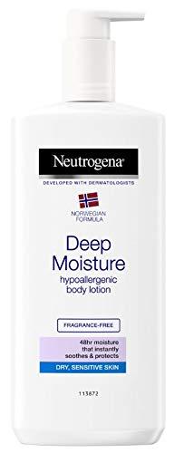 NEUTROGENA Norwegian Formula Deep Moisture Hypoallergenic Body Lotion For Dry Skin - (13.5oz or 400ml)
