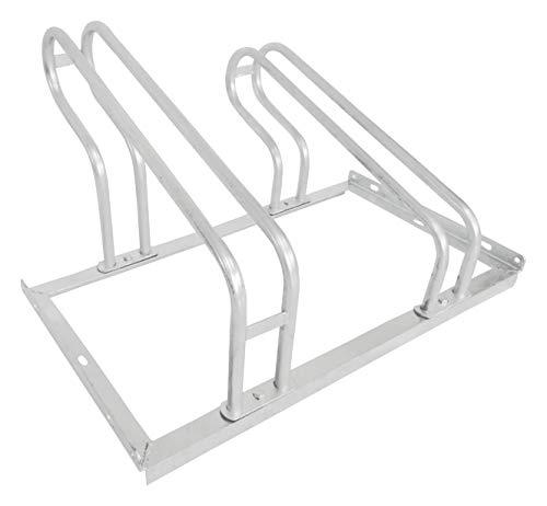 devil ray - Fahrradständer Bike Stand 2 Stellplätze feuerverzinkt einseitig verschraubt - 70 cm (Breite) x 56 cm (Tiefe) x 40 cm (Höhe) (2 Stellplätze)