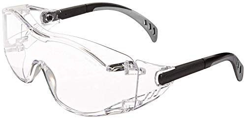 Gateway Safety 6980 Cover2 Safety Glasses (Clear 2-Pack)
